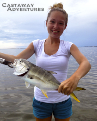 fishing the Banana river lagoon in Cocoa Beach Florida