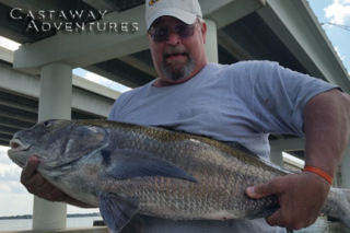 Fishing with cast away adventures, cocoa beach