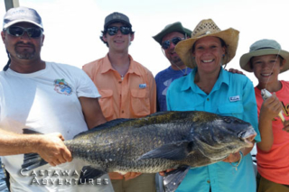 fishing with Cast Away adventures, cocoa beach family fun