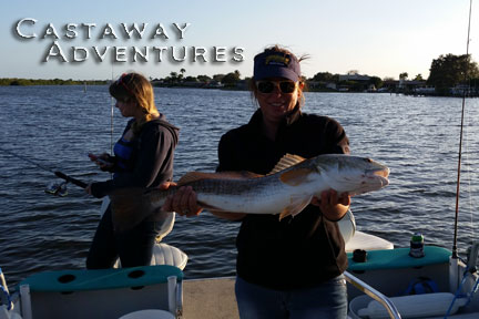 Cocoa beach red fish, Cast Away Adventures