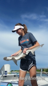 Shark fishing with Cast Away Adventures cocoa beach