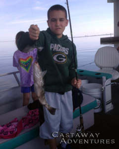 Family fishing Cocoa Beach