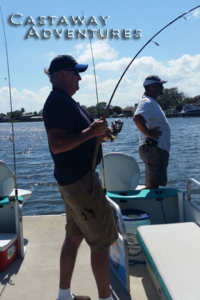 Fishing with cast away adventures, cocoa beach Florida