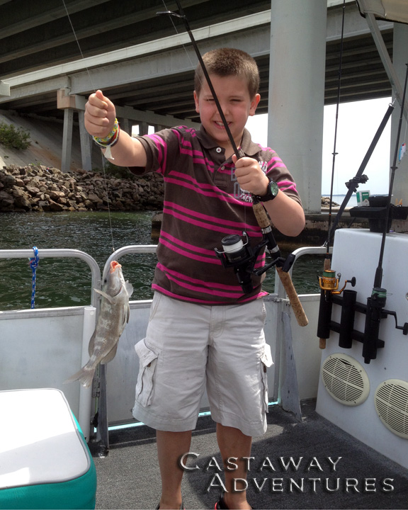 Cocoa Beach fishing with Cast Away Adventures