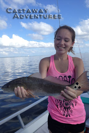 fishing for red fish in cocoa Beach