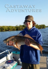 Red fish in Cocoa beach Florida