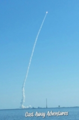 Cape Canaveral rocket launch